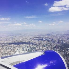 survol de Mexico City